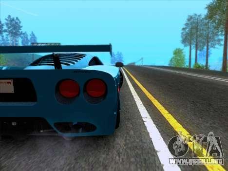 Mosler MT900S 2010 V1.0 para visión interna GTA San Andreas