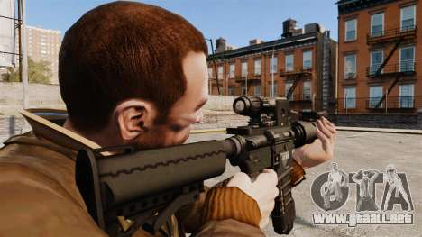 Táctica M4 v2 para GTA 4 segundos de pantalla