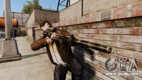 HK G3SG1 sniper rifle v2 para GTA 4 tercera pantalla