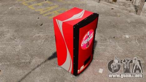 Máquinas expendedoras de Coca-Cola para GTA 4 tercera pantalla