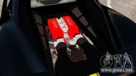Ferrari 458 Italia 2010 Wheelsandmore 2013 para GTA 4 visión correcta