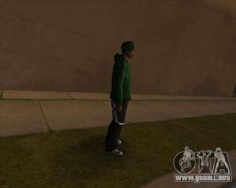 Mercado de ropa de deportes para GTA San Andreas tercera pantalla