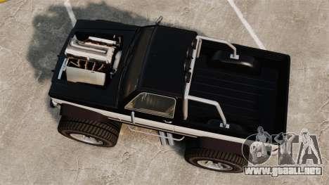 Monster Truck para GTA 4 visión correcta