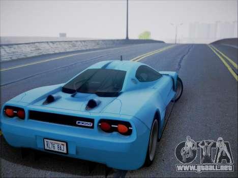 Joss JP1 2010 Supercar V1.0 para vista lateral GTA San Andreas