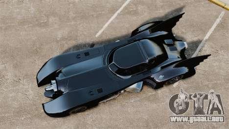 El guión del Batimóvil para GTA 4 tercera pantalla