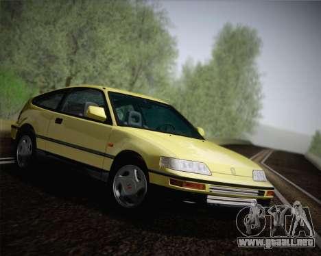 Honda CR-X 1991 para la visión correcta GTA San Andreas
