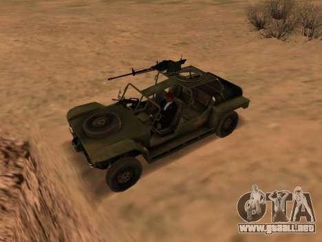 FAV de Battlefield 2 para GTA San Andreas left