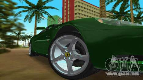 Ferrari 612 Scaglietti 2005 para GTA Vice City vista lateral