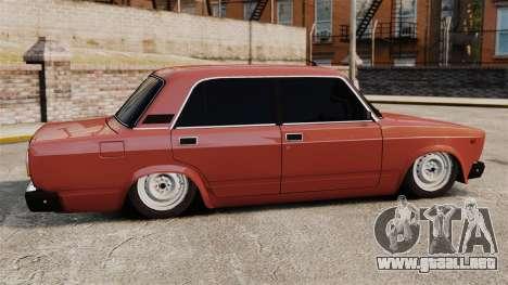 VAZ-2107 para GTA 4 left