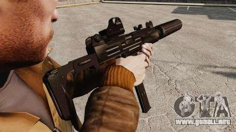 V1 Uzi Tactical para GTA 4 segundos de pantalla