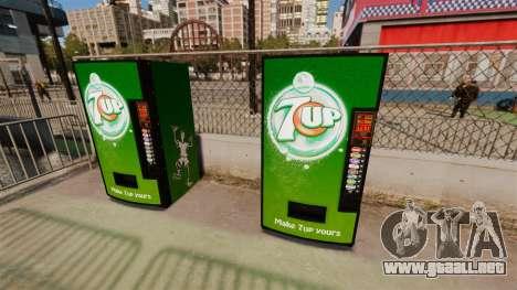 7 máquinas expendedoras para GTA 4