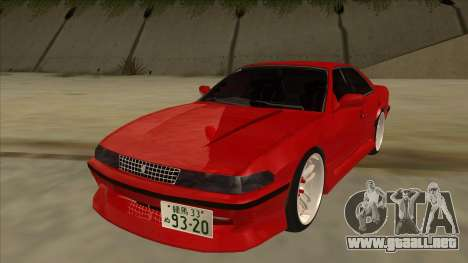 Toyota Chaser JZX81 Touge Style para GTA San Andreas