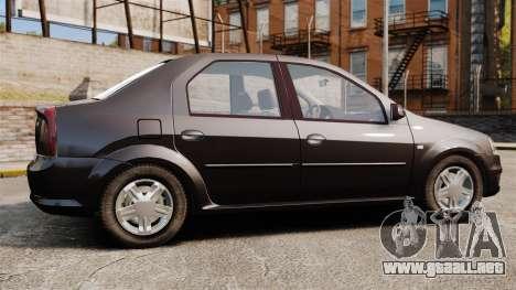 Dacia Logan 2008 v2.0 para GTA 4 left