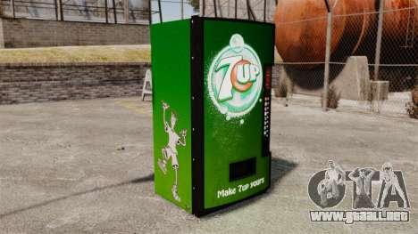 7 máquinas expendedoras para GTA 4 segundos de pantalla