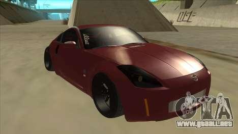 Nissan 350Z JDM para GTA San Andreas left
