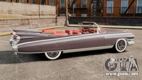 Cadillac Eldorado 1959 v1 para GTA 4 left