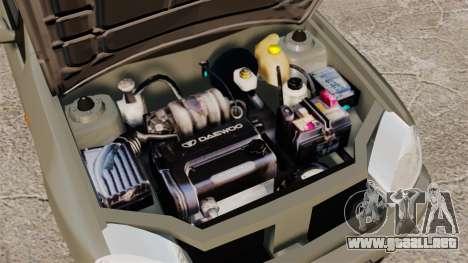Daewoo Lanos Sport PL 2000 para GTA 4 vista interior