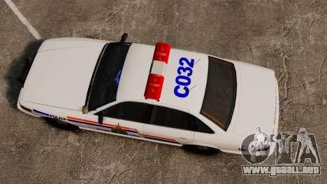 La real policía montada del Canadá para GTA 4 visión correcta