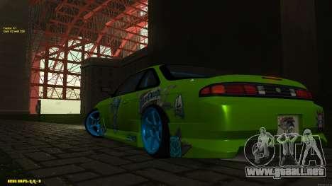 Nissan Silvia S14 CIAY para visión interna GTA San Andreas