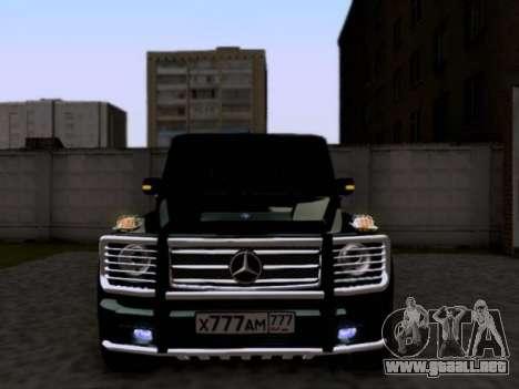 Mercedes-Benz G55 AMG para GTA San Andreas left