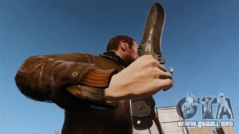 Cuchillo táctico v6 para GTA 4 tercera pantalla