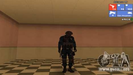 SWAT de piel para GTA San Andreas sexta pantalla
