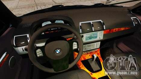 BMW X5 4.8iS v3 para GTA 4 vista superior
