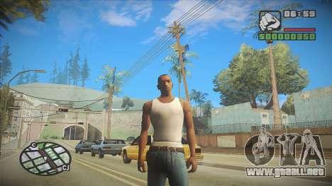 GTA HD Mod para GTA San Andreas segunda pantalla