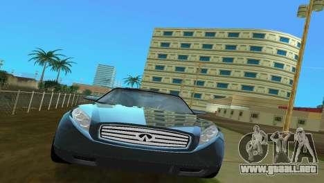 Infiniti Triant para GTA Vice City visión correcta