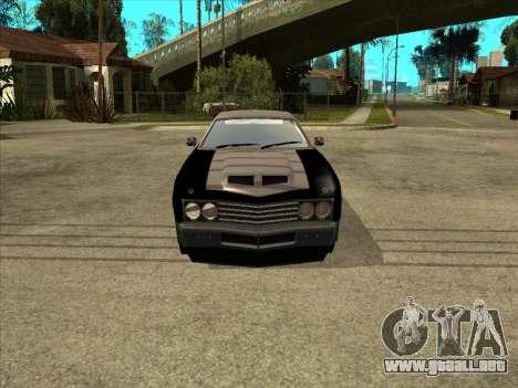 Remington para la visión correcta GTA San Andreas
