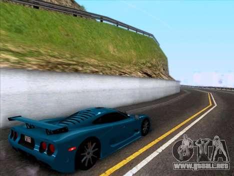 Mosler MT900S 2010 V1.0 para GTA San Andreas vista posterior izquierda