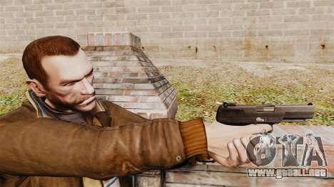 Carga automática pistola FN Five-seveN v2 para GTA 4