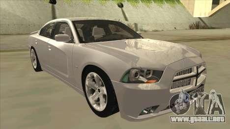 Dodge Charger RT 2011 V2.0 para GTA San Andreas left