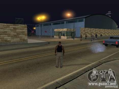 El nuevo aeropuerto, Los Santos para GTA San Andreas quinta pantalla