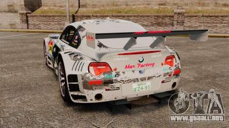BMW Z4 M Coupe GT Black Rock Shooter para GTA 4 visión correcta