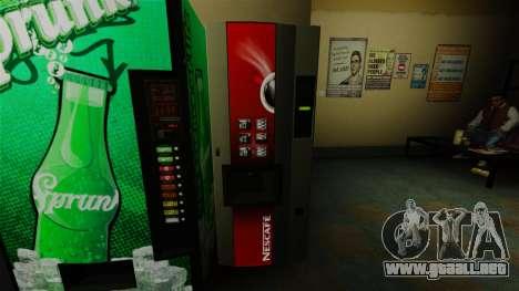 La máquina expendedora de oficina Nescafe para GTA 4