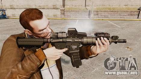 V3 M4 Tactical para GTA 4