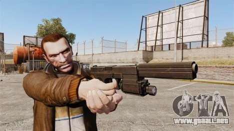 Táctica de la pistola Glock 18 v2 para GTA 4 tercera pantalla