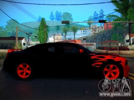 Dodge Charger SRT-8 Tuning para GTA San Andreas left