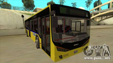 Bus Line 88 Novi Zeleznik para GTA San Andreas left