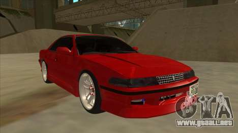 Toyota Chaser JZX81 Touge Style para GTA San Andreas left