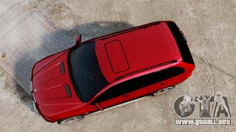 BMW X5 4.8iS v3 para GTA 4 visión correcta