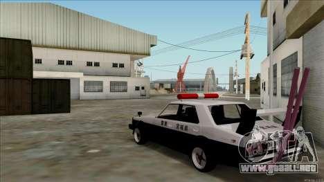Nissan Skyline Bosozoku para la visión correcta GTA San Andreas