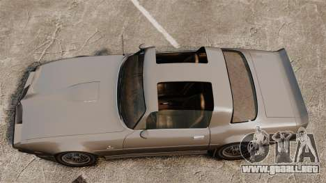 Imponte Phoenix 455 RS para GTA 4 visión correcta