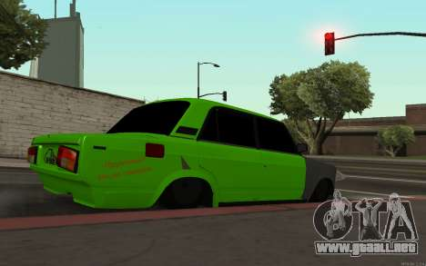 VAZ 2105 Rogue para GTA San Andreas left