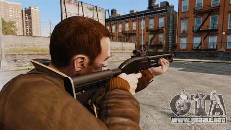 Escopeta táctica v2 para GTA 4 segundos de pantalla