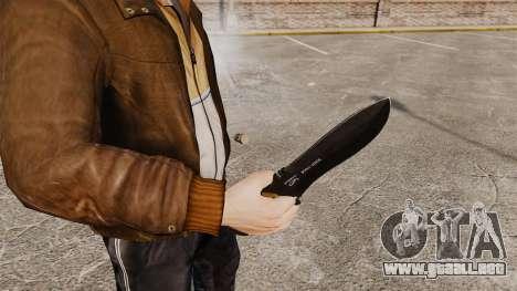 Cuchillo táctico v4 para GTA 4 segundos de pantalla