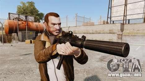 V1 Uzi Tactical para GTA 4 tercera pantalla