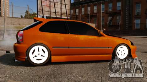 Honda Civic Gtaciyiz 2 para GTA 4 left