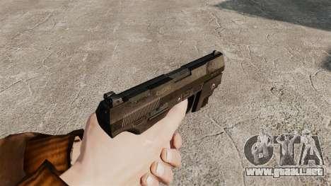 Walther P99 pistola semi-automática v1 para GTA 4 segundos de pantalla